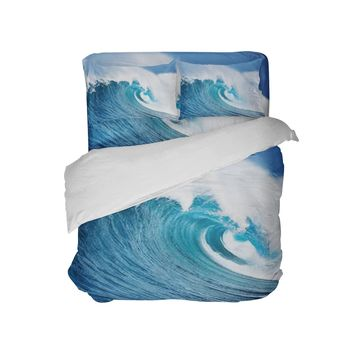 Surfer Bedding Ocean Wave Surf Comforter