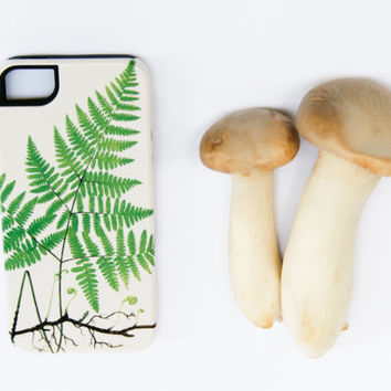 Woodland Fern iPhone Case, Botanical iPhone 5S / 5, iPhone 4 / 4S, Galaxy S3 / S4, iPhone 5C Case