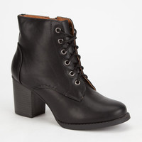 Soda Korman Womens Boots Black  In Sizes