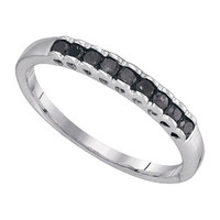 Diamond Micro-pave Ring in Sterling Silver 0.25 ctw
