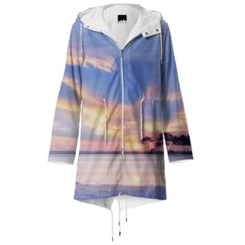 Wild beach raincoat