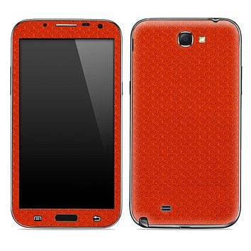 Red Jersey Texture Skin for the Samsung Galaxy Note 1 or 2