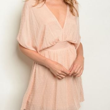 Pretty Little Thing Dress in Blush