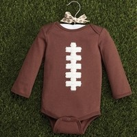 Mud Pie Football Crawler- New Born Baby Boy Clothes and Best Baby Gifts only $16.99 - New Items