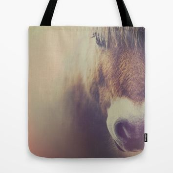 The curious girl Tote Bag by HappyMelvin | Society6