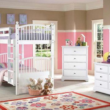 Laramie Twin over Twin Spindle Bunk Bed