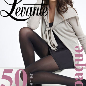 Suede Matte 40  Banded Tights