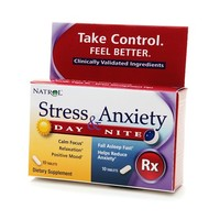 Natrol Stress & Anxiety Day & Night Dietary Supplement Tablets | Walgreens
