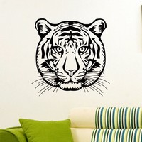 Wall Decal Vinyl Sticker Wild Animal Predator Tiger Decor Sb465