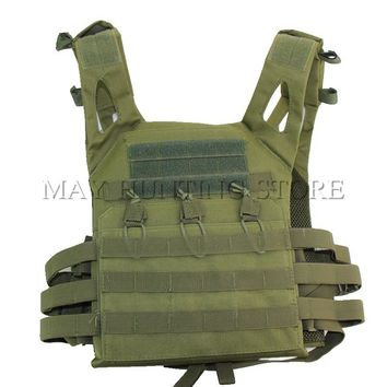 Tactical Plate Carrier Ammo Chest Airsoft Hunting Military Molle Vest Combat Assault Outdoor Hiking Camping JPC Vest