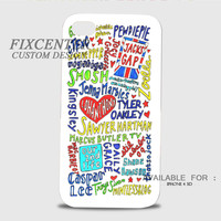 Youtubers Collage 3D Cases for iPhone 4,4S, iPhone 5,5S, iPhone 5C, iPhone 6, iPhone 6 Plus, iPod 4, iPod 5, Samsung Galaxy Note 4, Galaxy S3, Galaxy S4, Galaxy S5, BlackBerry Z10 phone case design