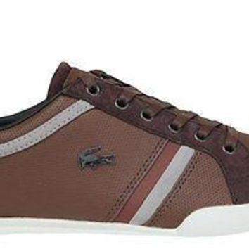 Lacoste Mens Shoes Rayford 6 dk Brown