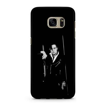 Jughead Jones Riverdale Black White Samsung Galaxy S7 Case