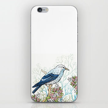 Blue Bird iPhone & iPod Skin by MIKART