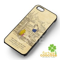 Winnie The pooh quotes christopher robin - zzDzz for  iPhone 4/4S/5/5S/5C/6/6+s,Samsung S3/S4/S5/S6 Regular/S6 Edge,Samsung Note 3/4