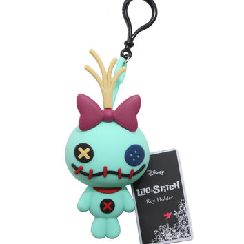 Disney Lilo & Stitch 3D Stitch Key Bag Key Chain
