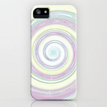 Re-Created Spin Painting No. 9 iPhone & iPod Case by Robert Lee