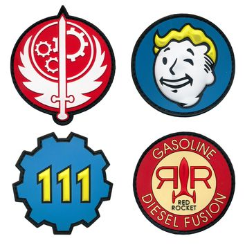 Tactical Fallout Vault 111 Pip Boy Brotherhood Of Steel Gasoline Diesel Fusion PVC Patches