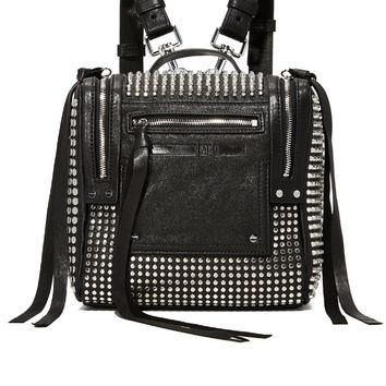 Stud Mini Convertible Box Backpack