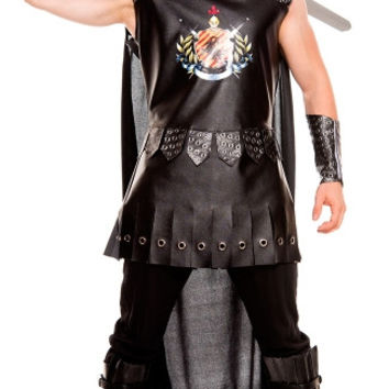 Mens Medieval Warrior King Costume