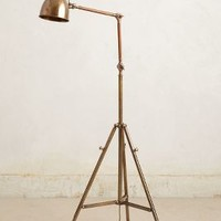 Tripod Floor Lamp by Anthropologie Bronze One Size Lighting