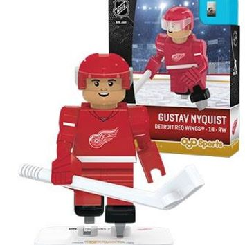 NHL Detroit Red Wings Gustav Nyquist Generation 3 Limited Edition Mini Figure
