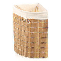 Honey Can Do Wicker Corner Hamper