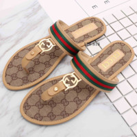 Gucci Casual Fashion Women Sandal Slipper Shoes G-YJBD-2H