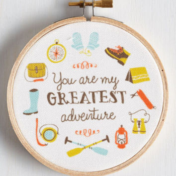 Dorm Decor Couples that Travel Together Hoop Art by ModCloth