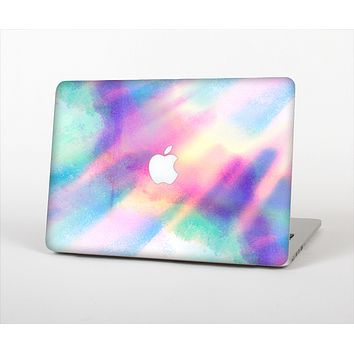 The Tie Dyed Bright Texture Skin Set for the Apple MacBook Air 11""