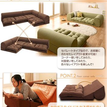 Corner sofa roof floor sofa moffy D type
