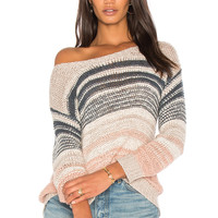 cupcakes and cashmere Reena Sweater in Latte | REVOLVE