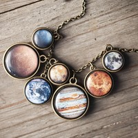 The Official I Love Science Store | Solar System Necklace