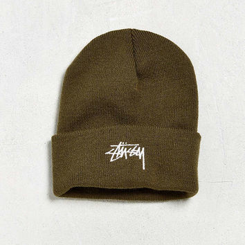 Stussy Stock Cuff Beanie   Urban Outfitters