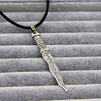 ABC Sitcom Once Upon a Time Rumplestiltskin Dagger Pendant Necklace Charm Knife