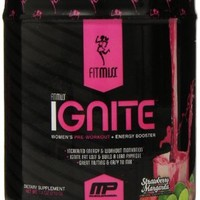Fitmiss Ignite 30 Servings, Strawberry Margarita, 7.4 Ounce