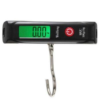 DCCK1IN new style weiheng electric digital luggage scale fishing peson pese balance hook hook 50kg 10g