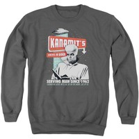 Twilight Zone - Kanamits Diner Adult Crewneck Sweatshirt