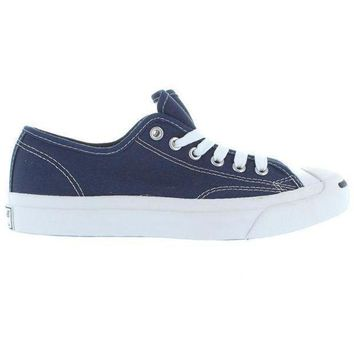CREYUG7 Converse Jack Purcell Low - Navy Canvas Low-Top Sneaker