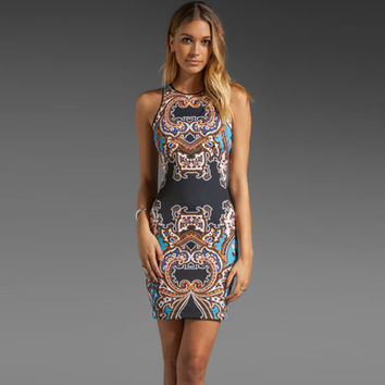 New Fashion Summer Sexy Women Dress Casual Dress for Party and Date = 4592091204