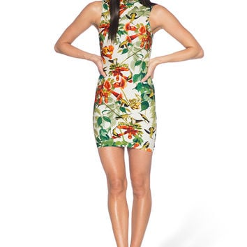 Hummingbird High Neck Toastie Dress