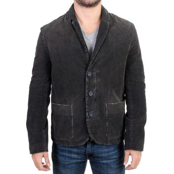 Costume National Gray corduroy jacket blazer