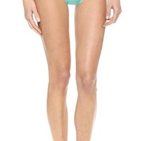 Kate Spade New York Parrot Cay Colorblock Bikini Bottoms