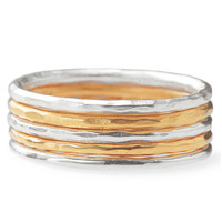 Stackable Band Rings-Multi--Size 6