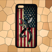 American Flag Browning Deer,iPhone 6 case,iPhone 5/5S case,iPhone 4/4S case,Samsung Galaxy S3/S4/S5 case,HTC Case,Sony Experia Case,LG Case