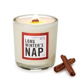 Long Winter's Nap Candle | Christmas Candles, Twas the Night Before Christmas