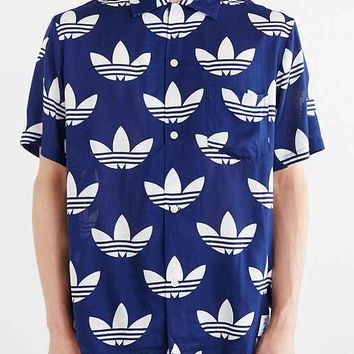 adidas Originals X Nigo 25 Aloha Trefoil Button-Down Shirt