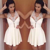 New Fashion Summer Sexy Women Mini Dress Casual Dress for Party and Date = 4661736068