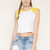 Sleeveless Baseball Tee