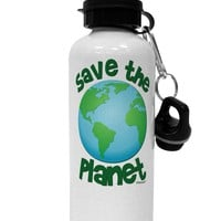 Save the Planet - Earth Aluminum 600ml Water Bottle